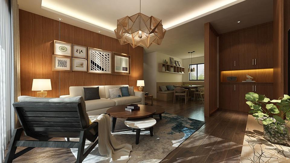 Jakie drewniane meble i inne elementy wykorzystać w salonie?